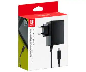 Chollazo Adaptador Corriente Oficial Nintendo Switch
