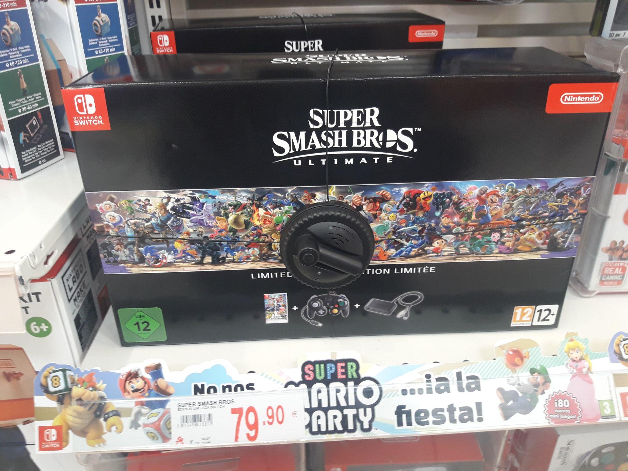 Smash Bros Ultimate Alcampo Motril