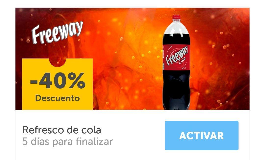 Descuento 40% refresco Cola de Lidl