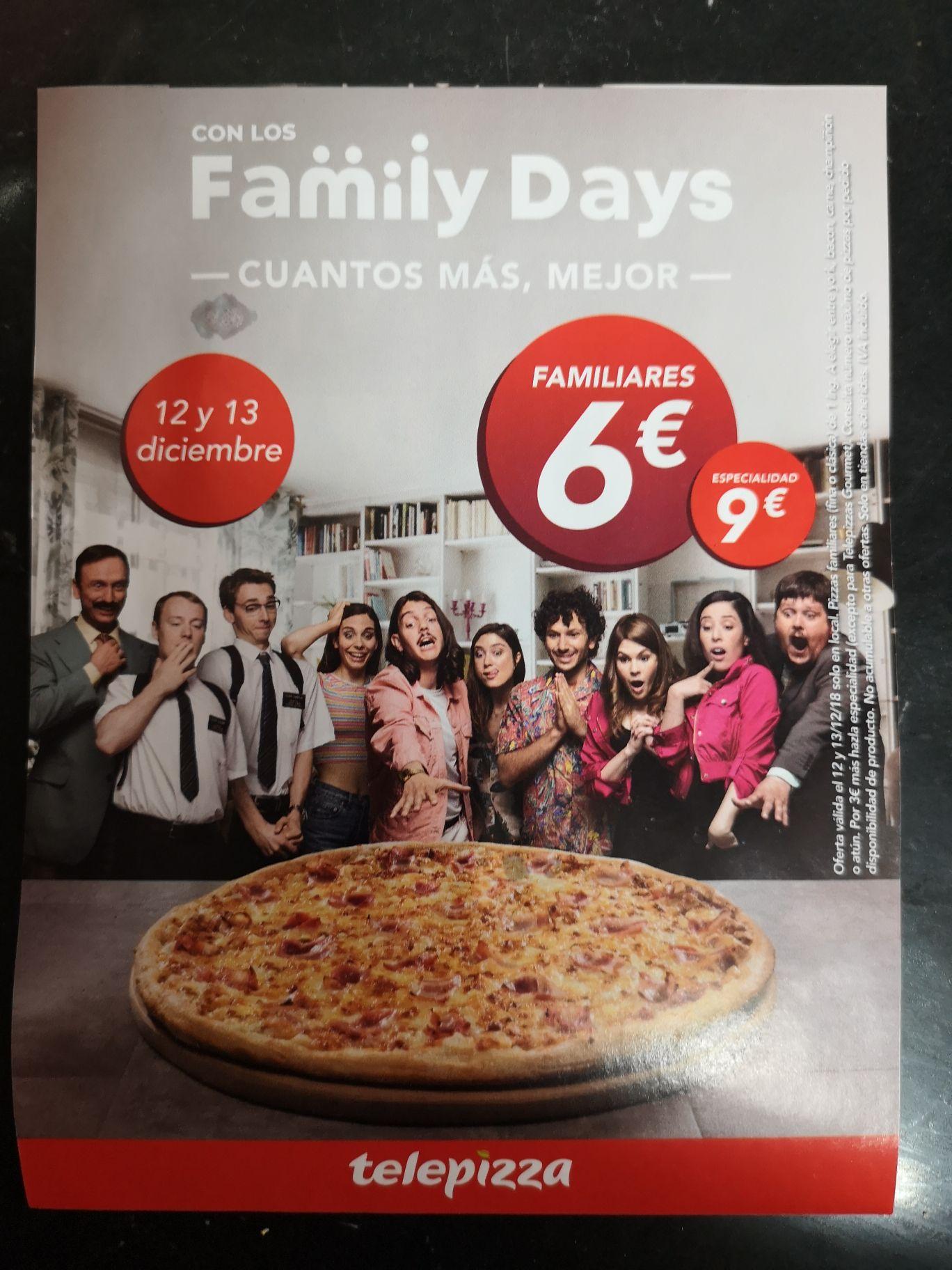 Family Days 19 y 20 de diciembre