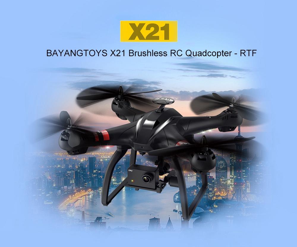 Drones Bayangtoys X21, X22 y X28 con GPS, WIFI y FPV a buen precio