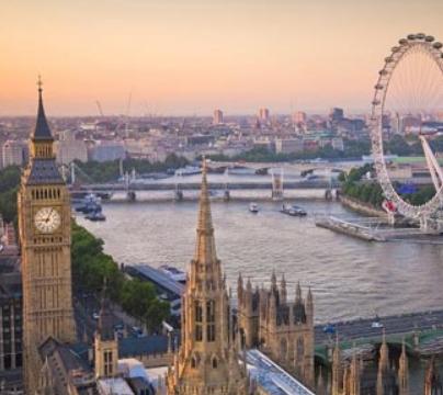 Londres 148€/p = 3 noches en hotel 3* con desayuno + vuelos