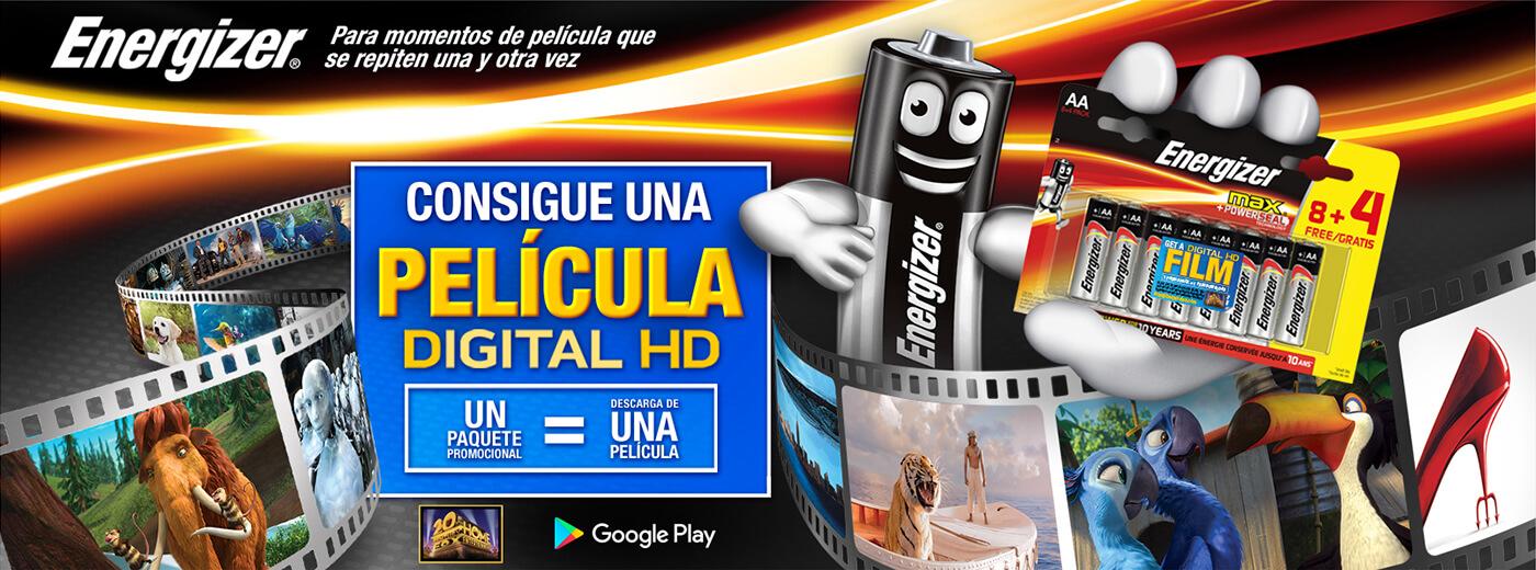 Peliculas hd gratis con pilas energyzer