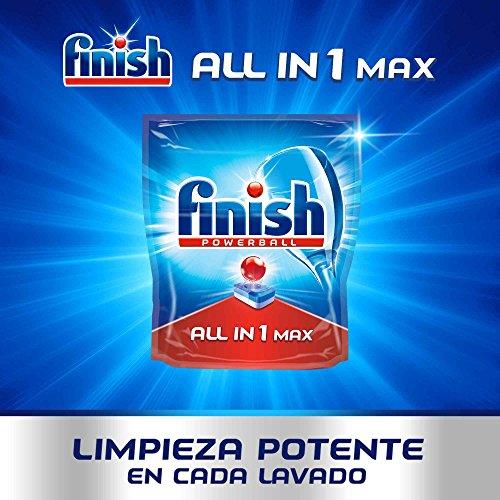 Finish Todo en 1 Max Regular Pastillas para Lavavajillas - 110 Pastillas