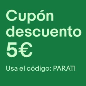 5€ de descuento en eBay (sólo productos seleccionados)