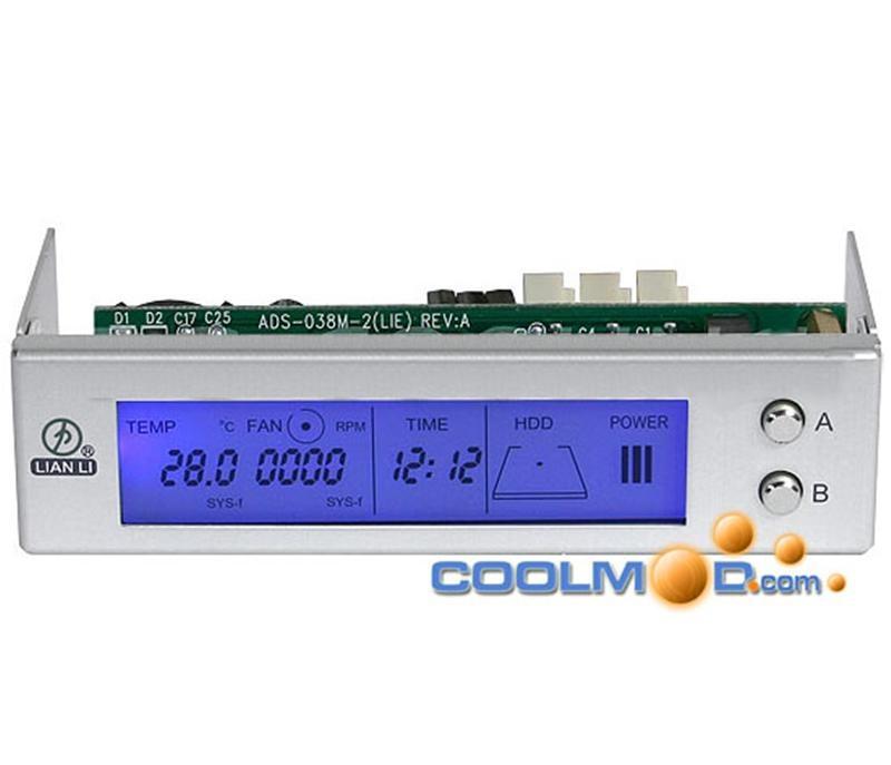 Controlador de Ventiladores para PC (hasta 6 ventiladores)