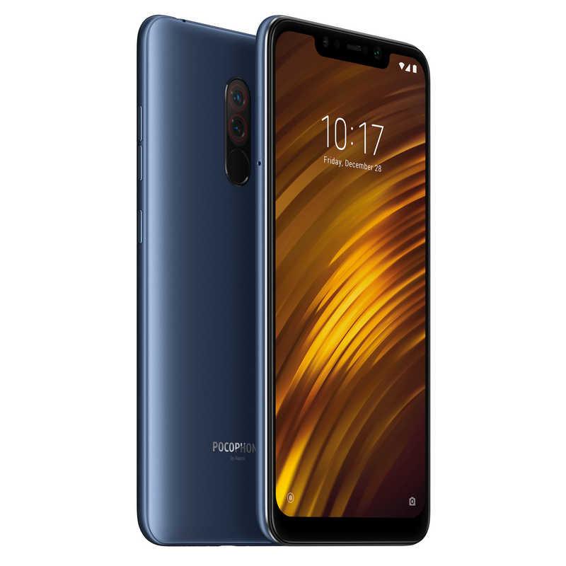 Xiaomi Pocophone F1 128GB (6GB Ram) - Azul Con Tarjeta de Memoria Micro SDHC