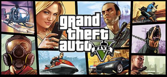 PC: Grand Theft Auto V en la página de Steam