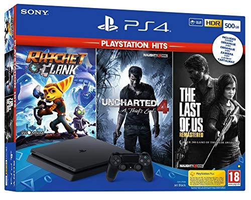 PS4 Slim 500GB + 3 Juegos