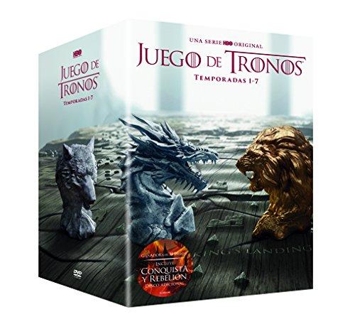 Juego de tronos en DVD (versión italiana con español)