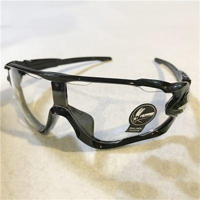 Gafas de ciclismo réplica Oakley.
