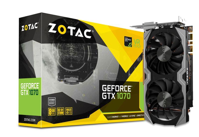 Zotac GeForce® GTX 1070 Mini 8GB GDDR5