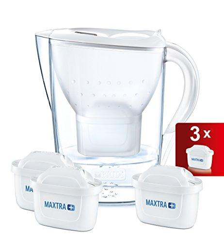 4.4 Brita MarJarra de Agua Filtrada con 3 Cartuchos MAXTRA+