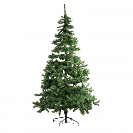 Árbol de Navidad 240 cm Clásico Estilo Natural