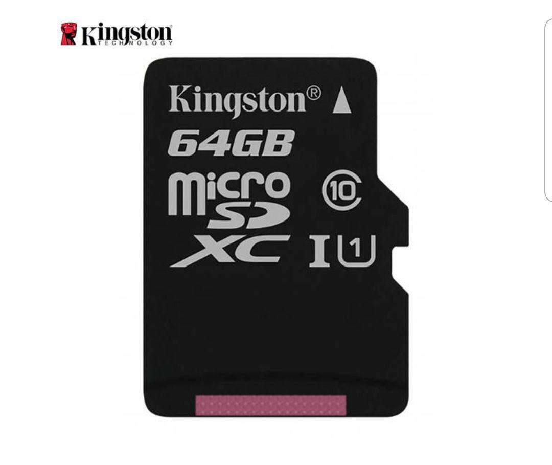 Memoria flash Kingston microSD 64GB