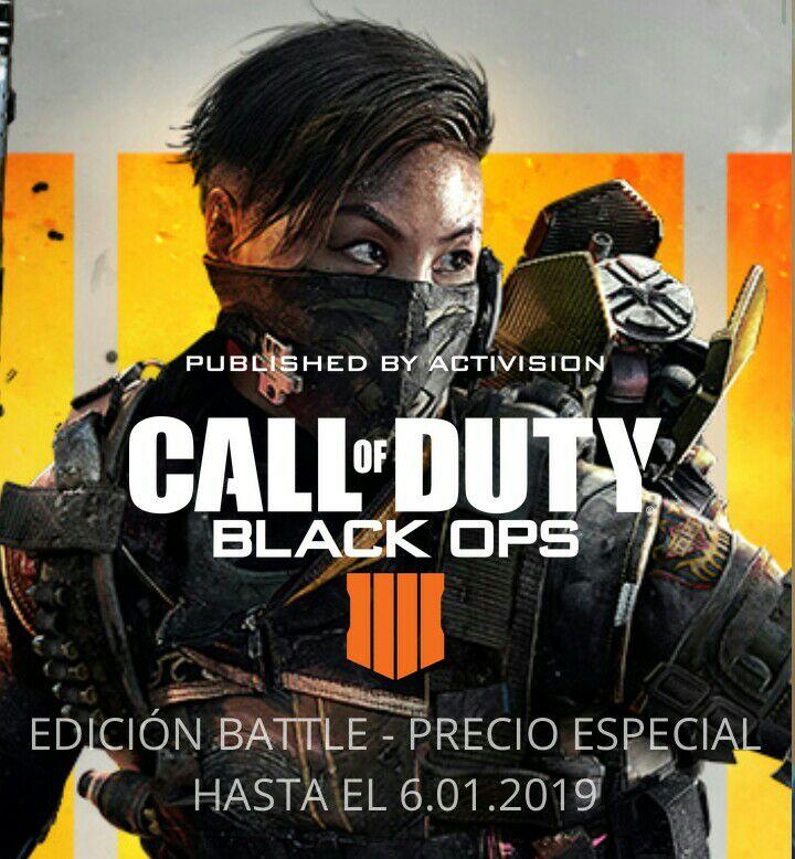 Call of Duty®: Black Ops 4 Edición Battle (Blackout y MJ) (no incluye Zombis) SOLO PARA PC