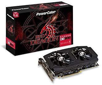 PowerColor Radeon RX 580 RED Dragon V2 Radeon RX580 Tarjeta gráfica 8192 MB