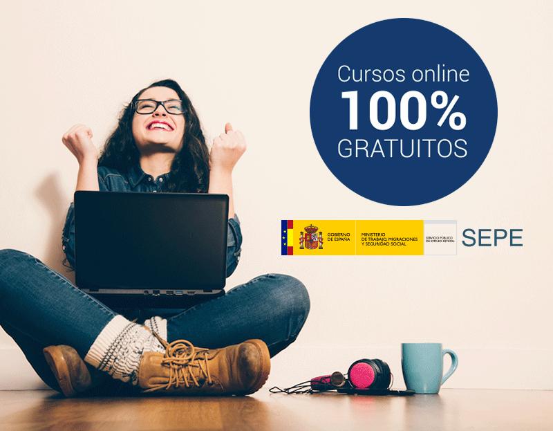 Cursos online  subvencionados para trabajadores y desempleados