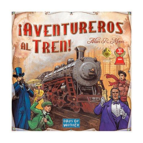 ¡Aventureros al Tren!! Juego de mesa