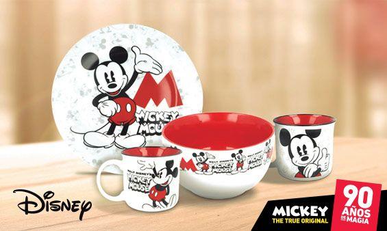 Vuelve la vajilla Disney a Repsol por 2.99€ la unidad