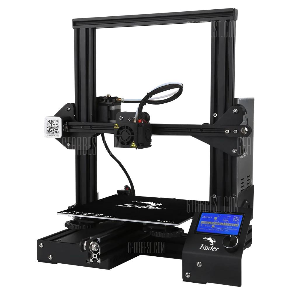 Impresora 3D Creality3D Ender por solo 113€!