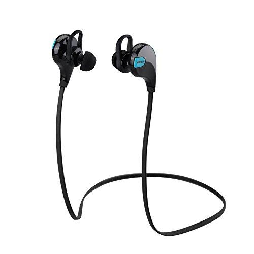 Auriculares inalámbricos deportivos con micrófono