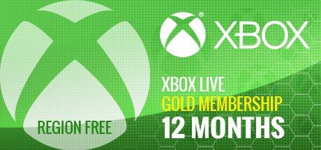 XBOX LIVE GOLD: 12 MESES
