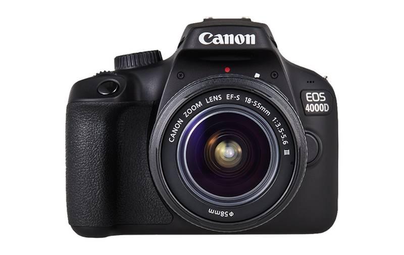 CANON 4000D + 18-55mm