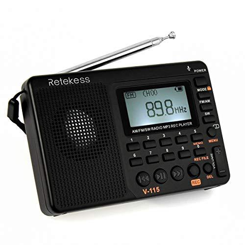 Retekess V115 Radio Portátil FM