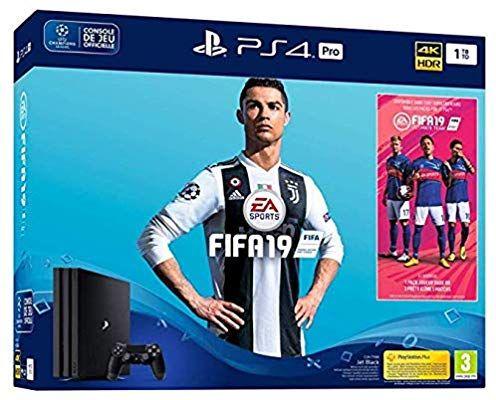 PS4 PRO 1TB  (Nuevo chasis G)  FIFA 19 - Edición estándar + cupón PS Plus 14 días