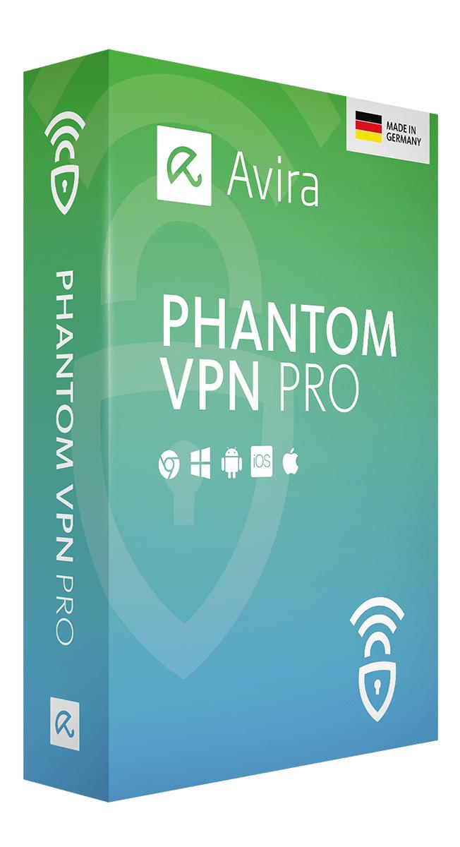6 meses de Avira Phantom VPN Pro GRATIS