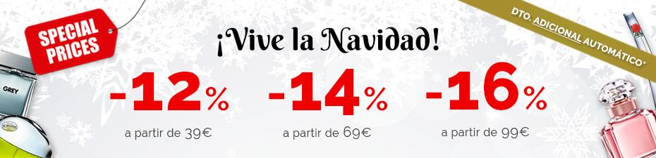 Ahorrate hasta un 16%  en Paco Perfumerias