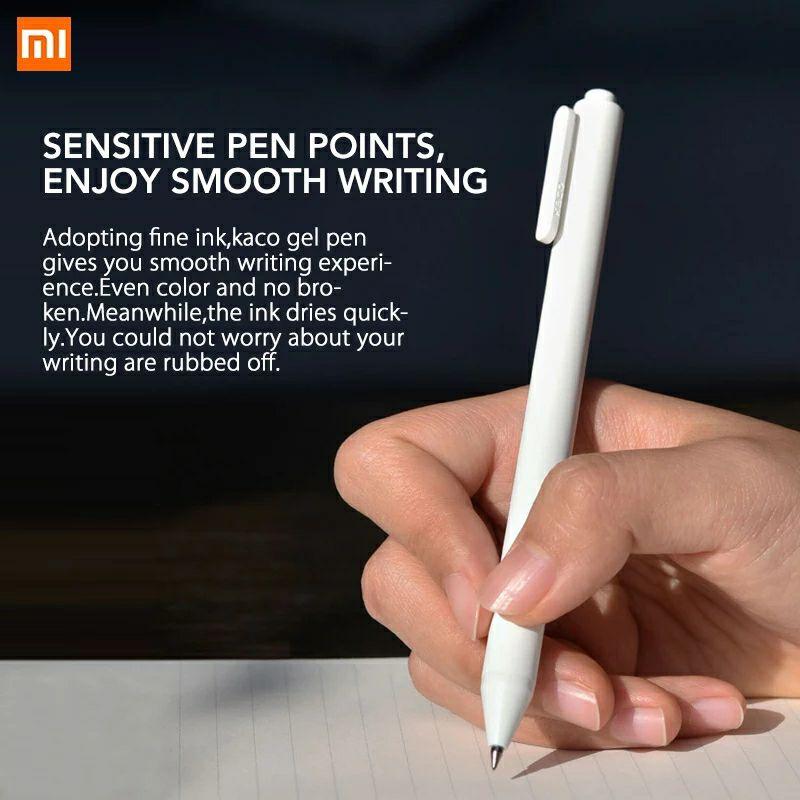 Bolígrafo de tinta gel Xiaomi, modelo KACO 0.5mm