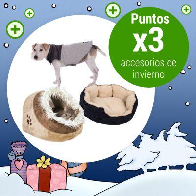 Puntos x3 en accesorios de invierno