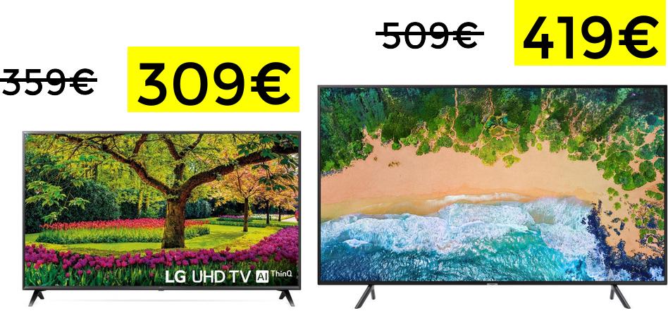 """LG 43"""" Smart TV 4K HDR10 309€ 43UK6200"""