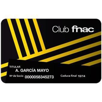 50% Renovacion tu cuota de socio Club Fnac