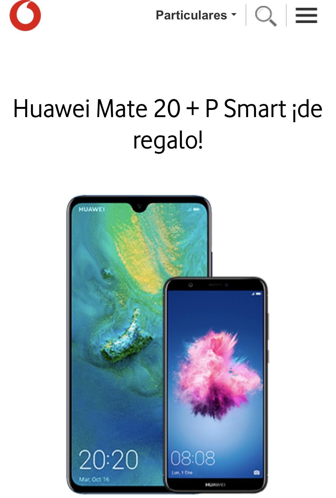 Huawei Mate 20 + Huawei P Smart