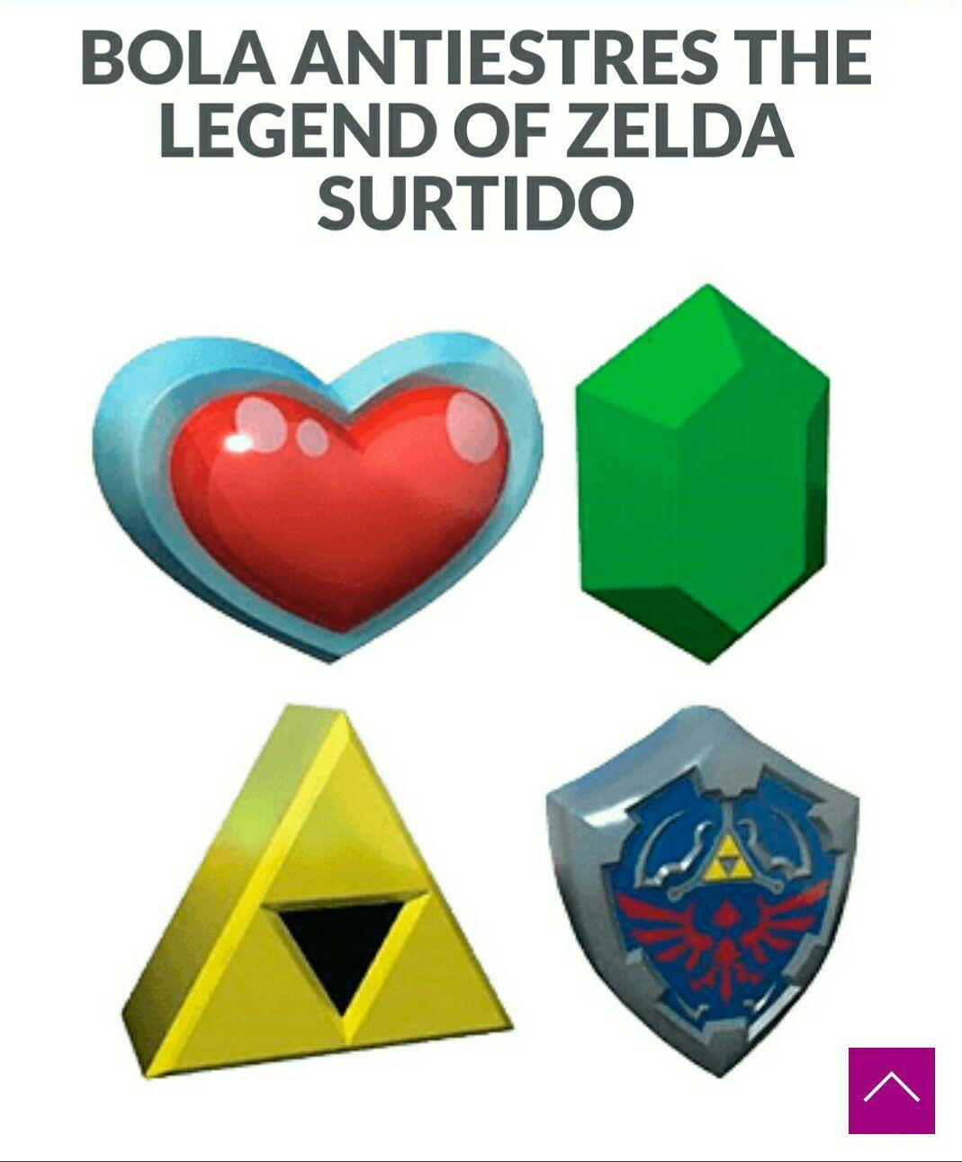 Bolas antiestres Zelda  para el ansia de renos