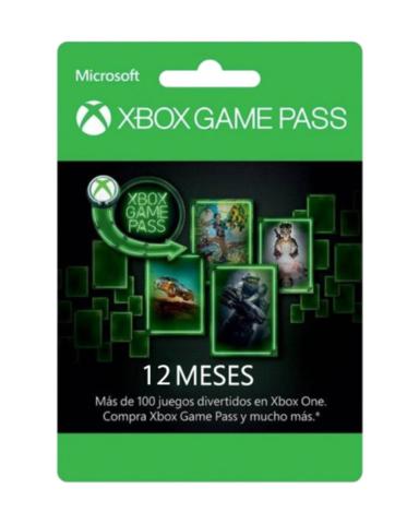 XBOX Game Pass 12 meses al 50%