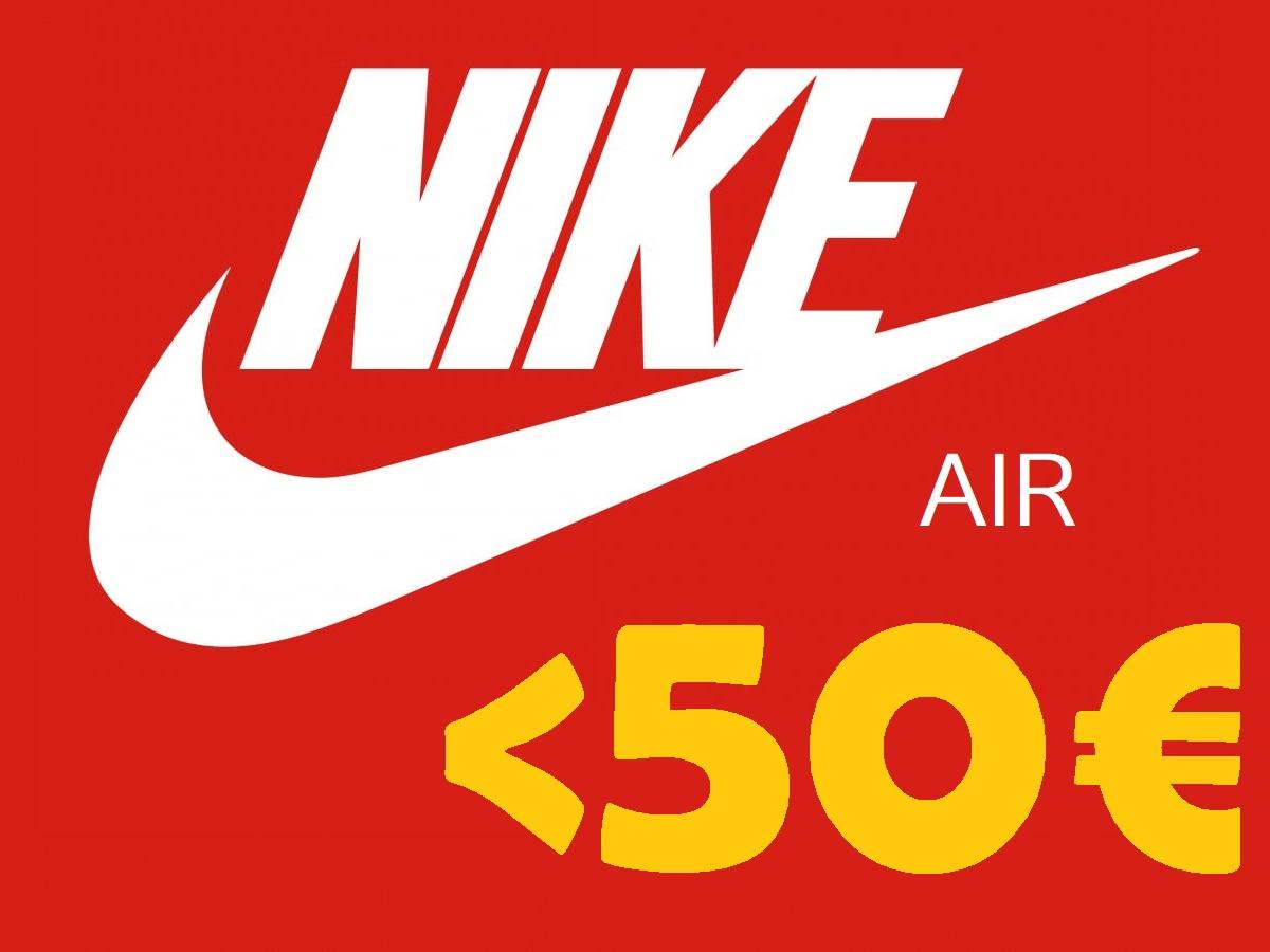 Zapatillas Nike Air por menos de 50€, ¡¡hasta el 70% de descuento en Amazon!!