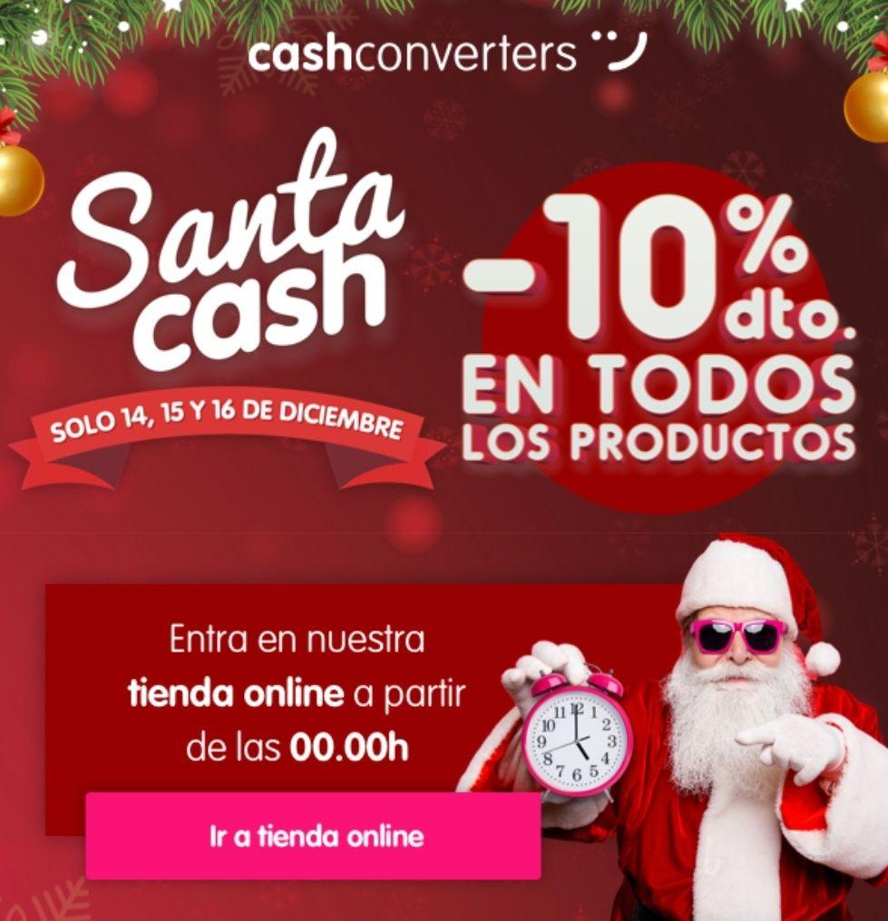 -10% en TODO CashConverters.es