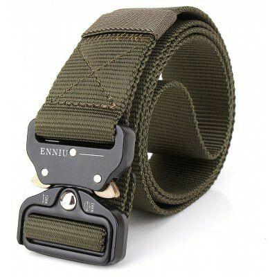 Cinturón táctico de nylon