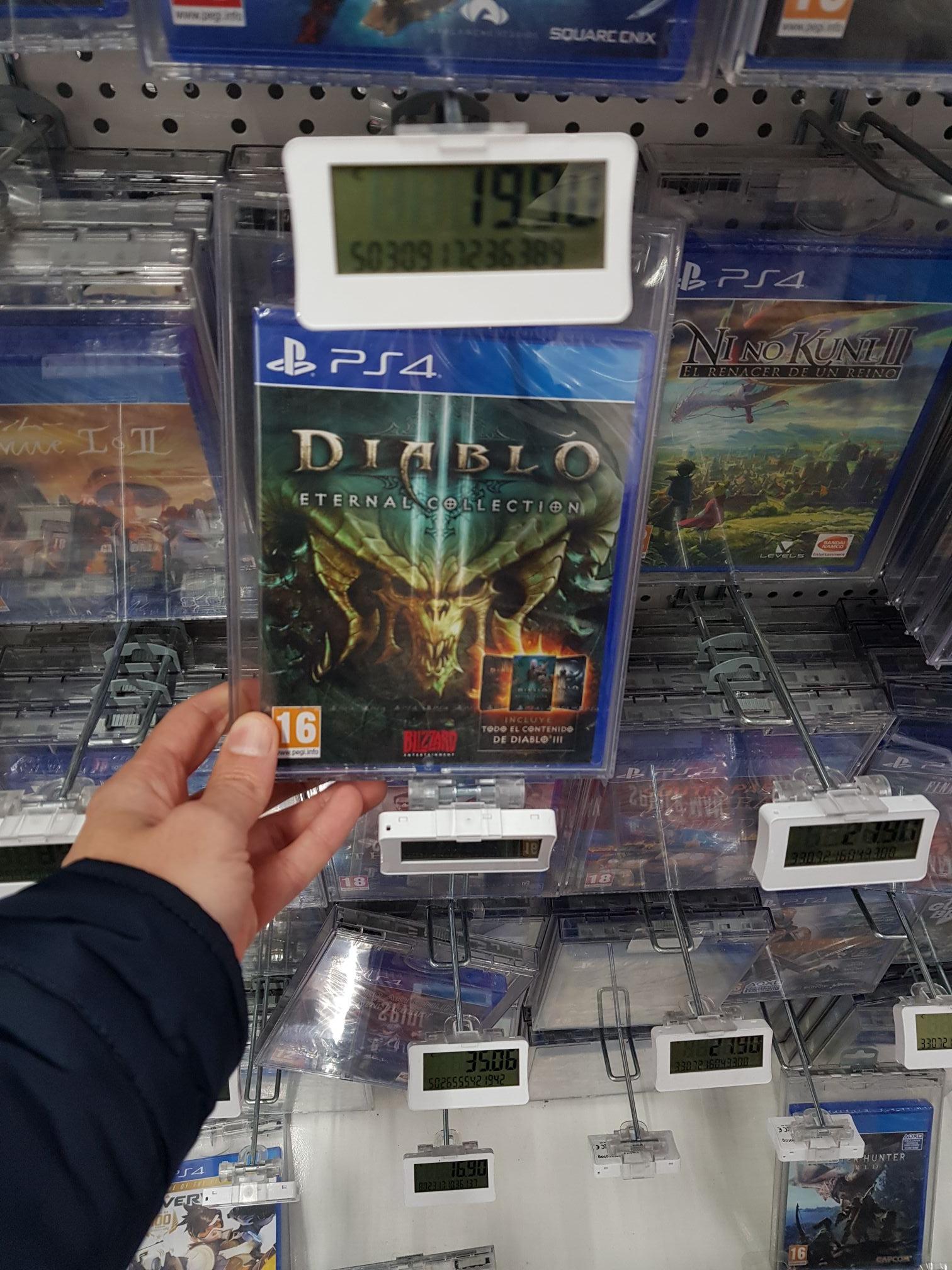 Diablo III Eternal Collection (Mediamarkt de Goya en Madrid)