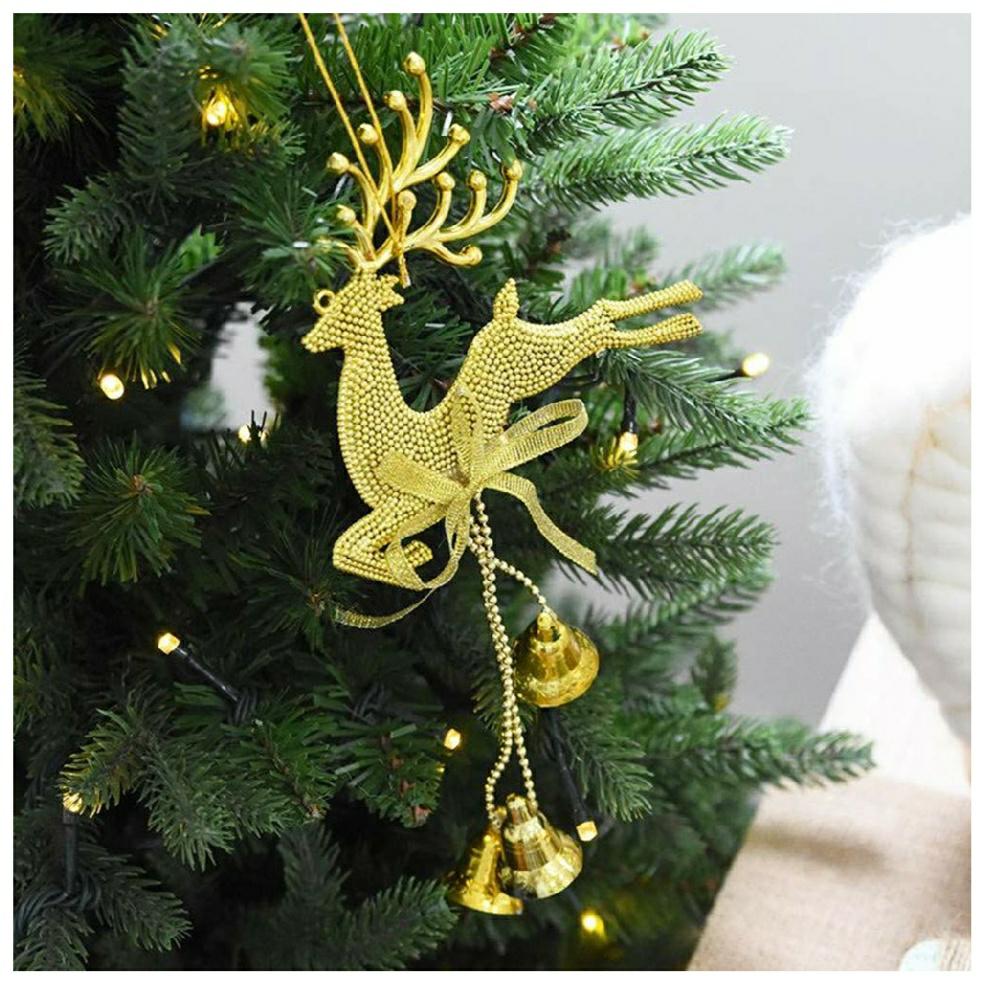 Reno Dorado para el Árbol de Navidad