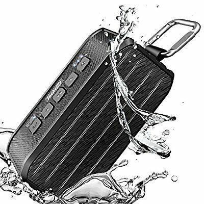 Techvilla - Altavoz Bluetooth portátil resistente al agua
