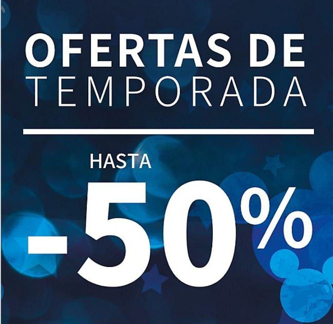 Disney Store - Hasta un 50% de descuento