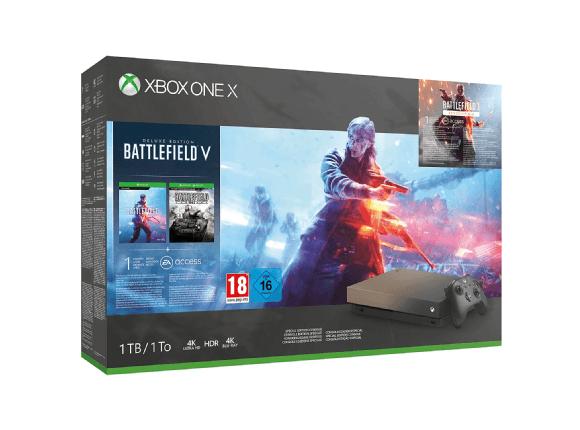 Xbox One X edición Golden Rush