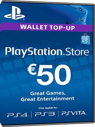 Tarjeta PlayStation Network 50 euros [ES]
