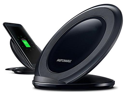 Cargador de contacto S7 10W Quick Wireless para Samsung Galaxy S7 / S6...