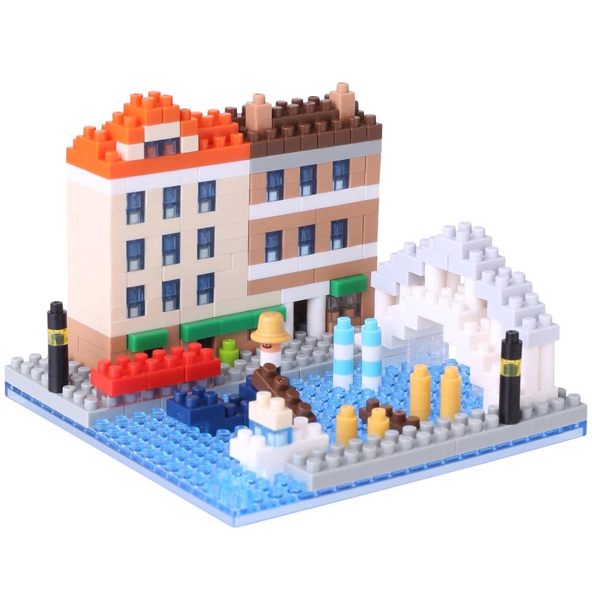 NANOBLOCK Juego de construcción Venecia